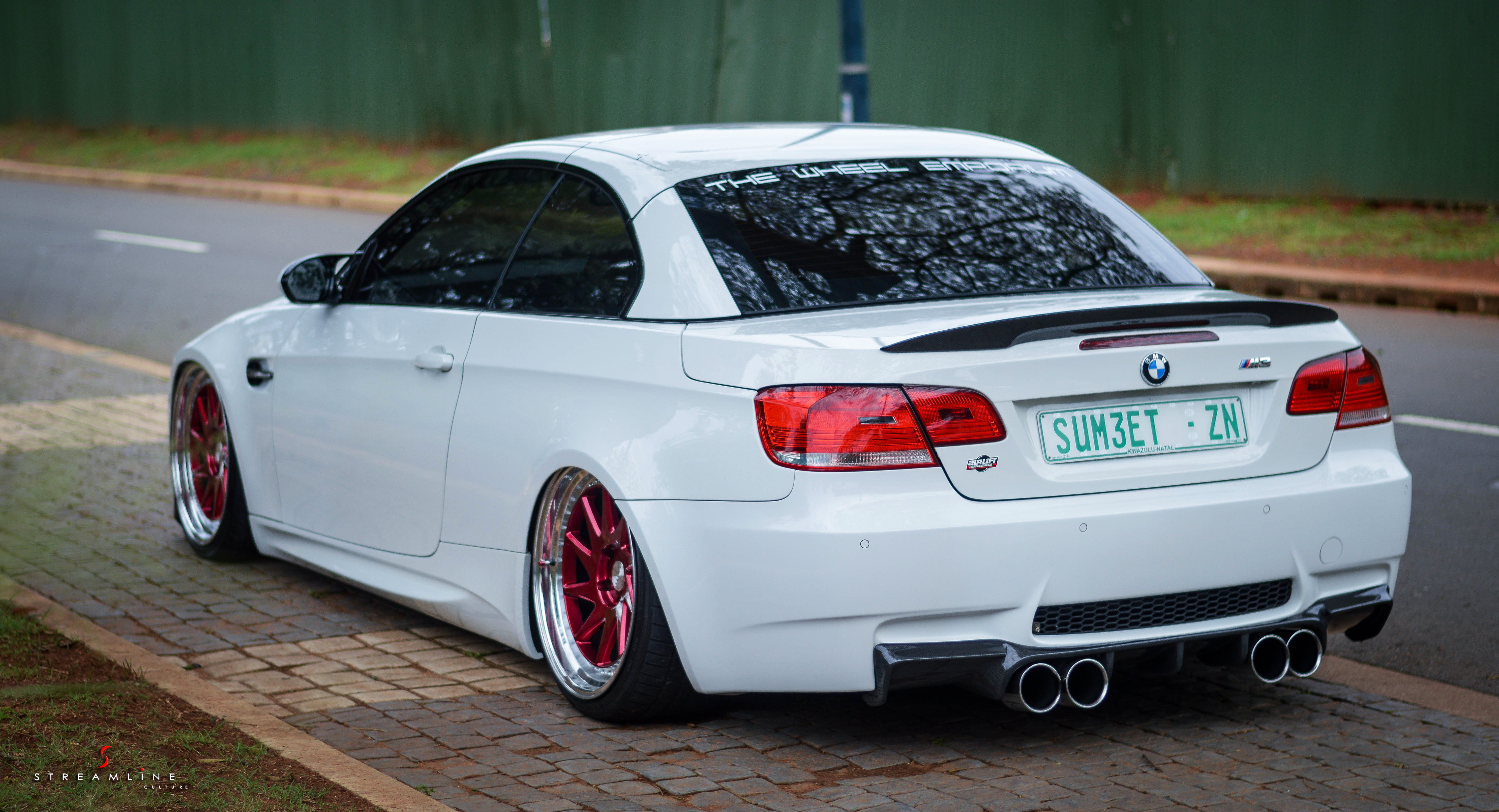 sumeet s bagged bmw m3 e93 streamline culture. Black Bedroom Furniture Sets. Home Design Ideas